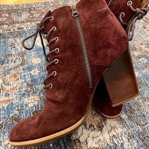 Kork-ease suede boots